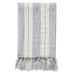Pom Pom at Home Laguna Blanket - Ocean/Natural