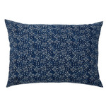 Pom Pom and Home Neela Hand Blocked Pillow - Indigo