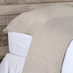 Pom Pom at Home Charlie Linen Pillowcases - Flax