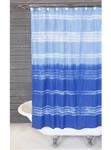 Pom Pom at Home Shaya Hand Blocked Shower Curtain - White/Black