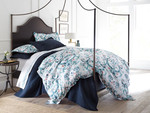 Peacock Alley Alena Duvet Cover - Aqua