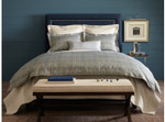 Peacock Alley Biagio Duvet Cover - Blue