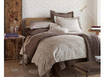Peacock Alley Biagio Duvet Cover - Linen