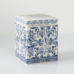 Kassatex Orsay Cotton Jar - Blue