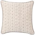 Luxe Albero Linen Zinc Decorative Pillow