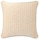 Luxe Albero Linen Semolina Decorative Pillow