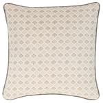 Luxe Aria Linen Zinc Decorative Pillow