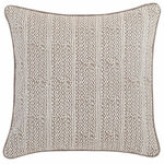 Luxe Lucia Linen Zinc Decorative Pillow