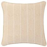 Luxe Lucia Linen Semolina Decorative Pillow