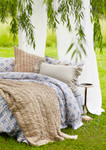 Amity Home Ruched Quilt - Taupe