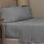 Amity Home Damara Sheet Set - Grey Chambray