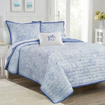 Southern Tide Seapine Quilt - Sky Blue