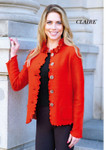 Venario Claire Boiled Wool Jacket