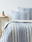 Amity Home Aiden Quilt - Blue