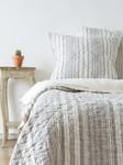 Amity Home Aiden Quilt - Grey