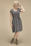 Bamboo Dreams® Raelyn Dress - Vintage Stripe
