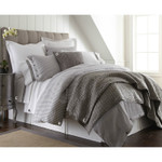 Amity Home Brayden Grey Stripes Duvet Cover