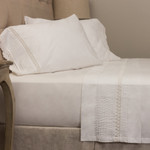 Amity Home Classic Crochet Sheet Set - White