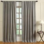 Amity Home Langston Linen Curtain - Blue