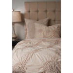 Amity Home Lily Duvet Cover - Sand