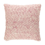 Pine Cone Hill Chunky Knit Pink Euro Sham