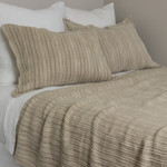 Amity Home Parker Linen Coverlet - Natural