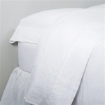 Pom Pom at Home Linen Sheet Set - White