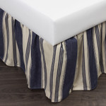 Amity Home Camden Bed Skirt - Blue