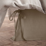 Amity Home Henley Linen Bed Skirt - Natural