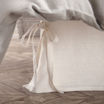 Amity Home Henley Linen Bed Skirt - White