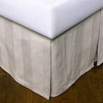 Amity Home Titus Bed Skirt - Natural