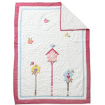 Amity Home A Bird's Life Baby Quilt