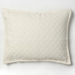 Amity Home Dale Linen Dutch Euro Pillow - Ivory