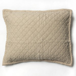 Amity Home Dale Linen Dutch Euro Pillow - Natural