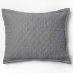 Amity Home Dale Linen Dutch Euro Pillow - Neutral Grey