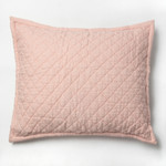 Amity Home Dale Linen Dutch Euro Pillow - Petal Pink