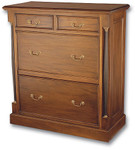 Laurel Crown Empire Four Drawer Chest