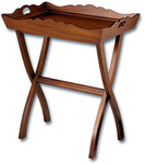 Laurel Crown Mahogany Butlers Tray Table