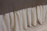 Ann Gish Basketweave Gathered Bed Skirt