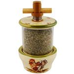 Provence Ceramic Herb Grinder - Hens