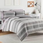 IZOD Caldwell Frost Grey Comforter Set