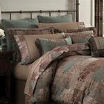Croscill Galleria Brown Duvet Cover
