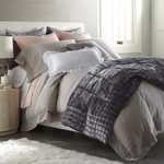 Amity Home Whitney Duvet Cover - Platinum Grey