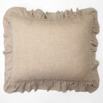 Amity Home Basillo linen Dutch Euro Pillow - Natural