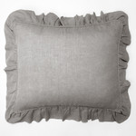Amity Home Basillo linen Dutch Euro Pillow - Seaglass