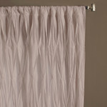 Amity Home Asher Drapery Panel - Silver Birch