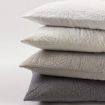 Amity Home Barcelona Linen Quilt - Neutral Grey