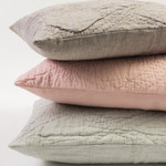 Amity Home Barcelona Linen Quilt - Grey Chambray