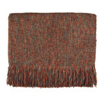 Kenebunk Home Melange Throws - Pecan