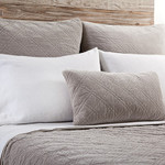Pom Pom at Home Brussels Taupe Euro Sham